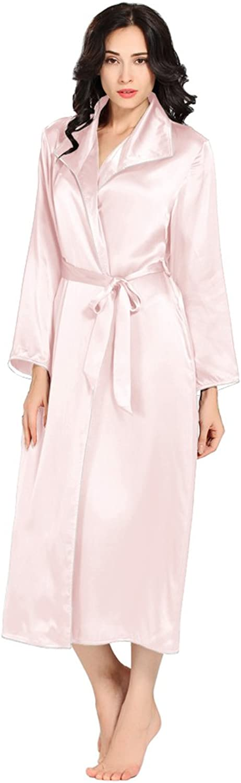 LilySilk Luxury Silk Robe for Women 100% Pure Silk 22 Momme