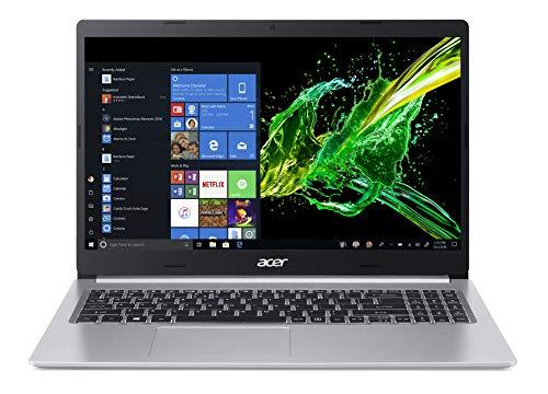Acer Aspire 5 (A515-54G-59WR) 39,6cm (15,6 Zoll Full-HD IPS matt) Multimedia Laptop (Intel Core i5-8265U, 8 GB RAM, 512 GB PCIe SSD, NVIDIA GeForce MX250, Win 10) silber