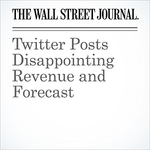 Twitter Posts Disappointing Revenue and Forecast cover art