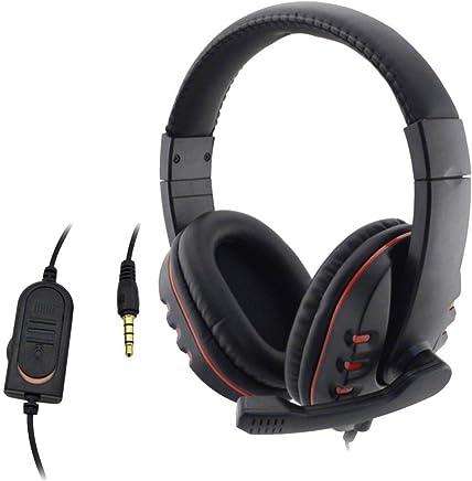 Level di Ricambio per PS4 / Computer 3,5 Millimetri Large Nero Rosso Microfono Wired Cuffie Gaming Headset - Trova i prezzi più bassi