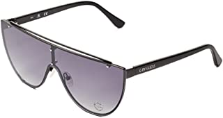 Guess Oversized Women's Sunglasses, Black with Gradient Lenses GG1167 01B