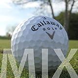 100 CALLAWAY MIX PELOTAS DE GOLF RECUPERADAS / LAKE BALLS - CALIDAD AAA / AA (A / B GRADE)