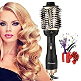 Aibesser Hair Dryer Brush, Hot Air Brush Multifunctional Hair Dryer and Volumizer with Professional Negative Ion, Blow Dryer Brush Reduce Frizz and Static