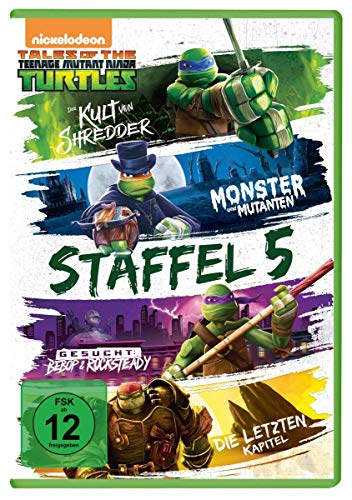 Teenage Mutant Ninja Turtles - Season 5 [4 DVDs]