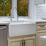 Fine fixtures Sutton Fireclay sink, 30' Apron Front Farmhouse Kitchen Sink. Solid (Not Hollow)…