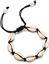 Gleamart Shell Anklet Bracelet Natural Cowrie Beads Handmade Beach Foot Jewelry Hawai Style for Women
