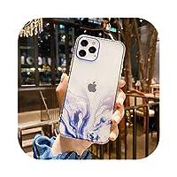 Dnhai for iPhone用大理石の電話ケース1112 Pro Max Mini SE 2 2020 7 8 Plus X XS MAXXRケースシリコン漫画フルプロテクターカバー -WV G M-for iPhone 7 8 SE2