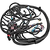 Mophorn Standalone Wiring Harness, Extra Long Engine Wiring Harness Kit, Complete Wiring Harness with Fuse Blocks & Sensor, Wiring Harness for 97-02 LS1/LS6/ LS2/3/7 Engines Vortec, W 4L60E DBC Or T56