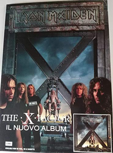 Iron Maiden The X Factor Promo Display Stand (60 x 42)