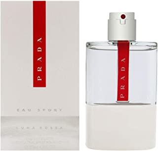 Prada Luna Rossa Sport Eau de Toilette Cologne Spray, 4.2 Ounce, Multicolor