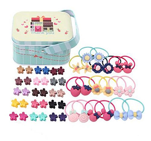 Random of Children Hairpins Lovely Hair Band and Hairpin, Costume de cheveux