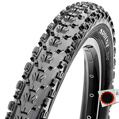 Maxxis Ardent Freeride TLR - Cubierta para Bicicleta (27,5 x 2,25', 56-584 Exo Dual), Color Negro