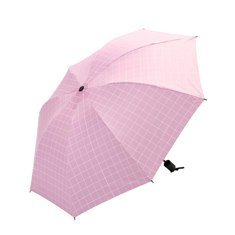 Comeyang Paraguas Compacto y a Prueba de Viento Que Abre y Cierra automáticamente el Paraguas Plegable,Sunny Umbrella Square sombrilla de Goma Negra colour2 98cm: Amazon.es: Hogar