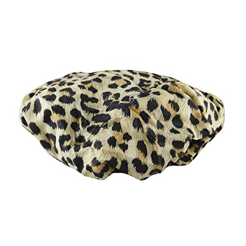 Betty Dain Stylish Design Terry Lined Shower Cap, The Socialite Collection, 'safari Spots' by Betty Dain Creations, Inc.