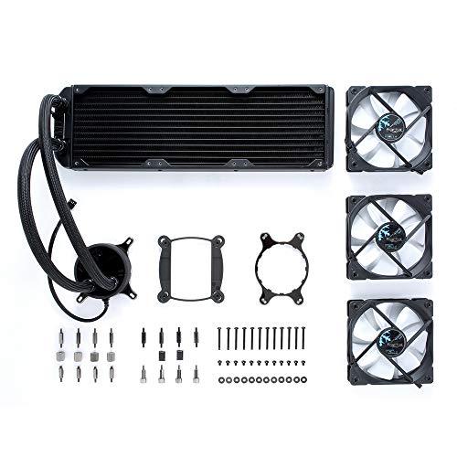 Fractal Design Celsius S36 Processor liquid cooling - Computer Liquid Cooling (9 W, 150 mA, 12 V, 0.2 A, Aluminium, Aluminium)