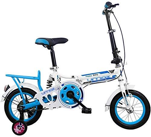 Xiaoyue Kinderfahrräder Falträder männliche und weibliche Studenten Tretrad Kinder dreirädrigen Innenvorschul Scooter 12/16 Inch Adult Mini Faltrad (Farbe: Rosa, Größe: 16 Zoll) lalay