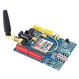 Scheda di sviluppo, SIM900 850/900/1800/1900 MHz Kit modulo scheda di sviluppo GPRS/GSM adatto per Arduino