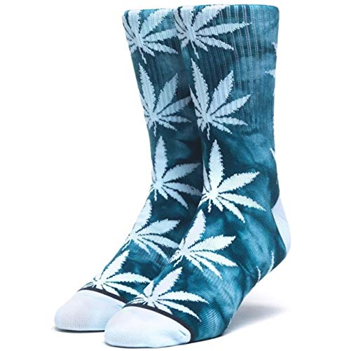 HUF Crystal Wash Plantlife Socks One Size Biscay Bay