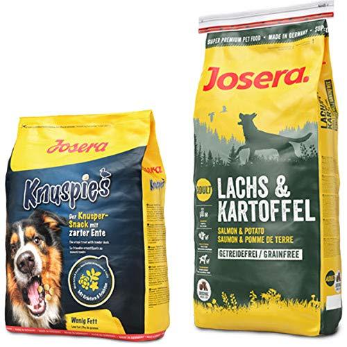 Josera 15 kg Lachs & Kartoffel + 900 g Knuspies