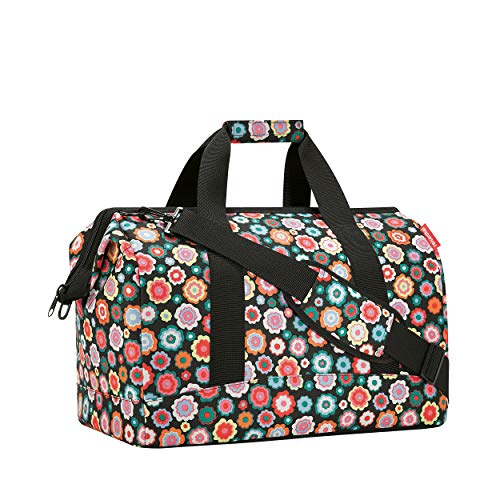 Reisenthel Allrounder L Equipaje de Mano, 48 cm, 30 Liters, Multicolor (Happy Flowers)