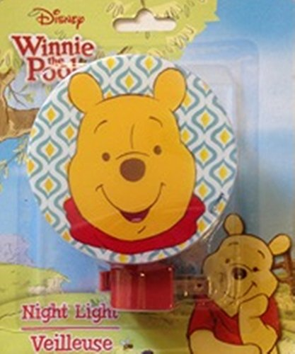 Veilleuses pour enfants à thème de personnage (Winnie l'ourson)