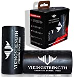 Vikingstrength - Thick Grips, Give Any Bar, Dumbbell, Barbell or Machine Fat Bar Grips for Increased...