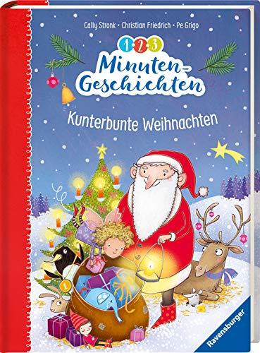 1-2-3 Minutengeschichten: Kunterbunte Weihnachten (Vorlese- und Familienbücher)