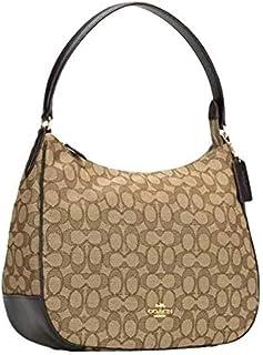 Outline Signature Zip Shoulder Bag