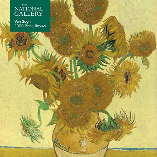 Adult Jigsaw Puzzle National Gallery: Vincent Van Gogh, Sunflowers: 1000-piece Jigsaw Puzzles (1000-piece jigsaws)