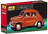 Heller - 80174 - Construction Et Maquettes - Renault 4 Cv - Echelle 1/43ème