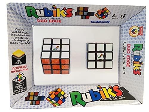 Wingames-Duo Edge Rompecabezas 6 Colores del Cubo de Rubik 777