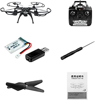 Wafalano 2.4G RC Drone with LED Light One Key Return Headless Mode Speed Control Helicopter