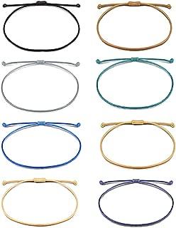 8 Pcs Handmade String Bracelets Friendship Gifts for Women Girls Men Birthday Party Favor