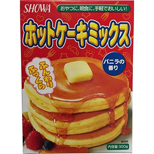 昭和産業 ホットケーキミックス バニラの香り 300g