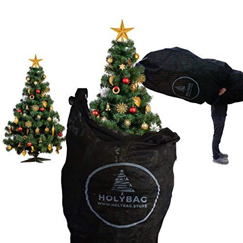 G Weihnachtsbaum Transporthülle Holybag | für Bäume bis zu 3 Meter Höhe | einfach einpacken und Wiederverwendbar | für nadelfreien Transport des Baumes