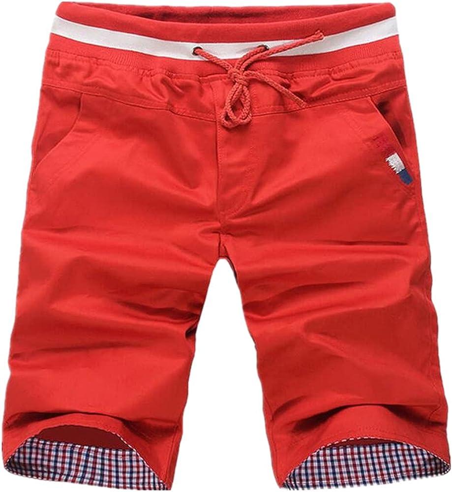 NP Men Short Sweatpants Cotton Men's Casual Shorts Summer Men's Elastic