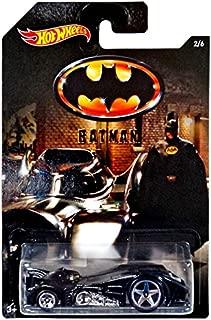Hot Wheels 2015 Batman Batman Batmobile (1989 Movie) 2/6