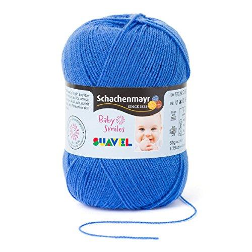 Schachenmayr Baby Smiles Suavel 9814876-01053 sky blue Handstrickgarn, Häkelgarn, Babygarn