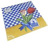 Tovaglioli di carta per il pranzo delle feste, circa 33 x 33 cm, per ogni occasione, estate, primavera, tulipani