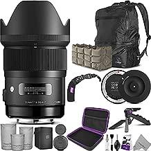 Sigma 35mm F1.4 Art DG HSM Lens for Nikon DSLR Cameras + Sigma USB Dock with Altura Photo Essential Accessory and Travel Bundle