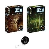 Lot de 2 Jeux EXIT de IELLO: Le Laboratoire Secret + Le Tombeau du Pharaon + 1 Yoyo Blumie