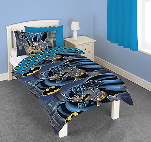 Official DC Comics Batman Single Duvet Cover Set (Single)