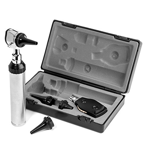 RA Bock Hard Case 3.2v LED Otoscope/Medical School Kit