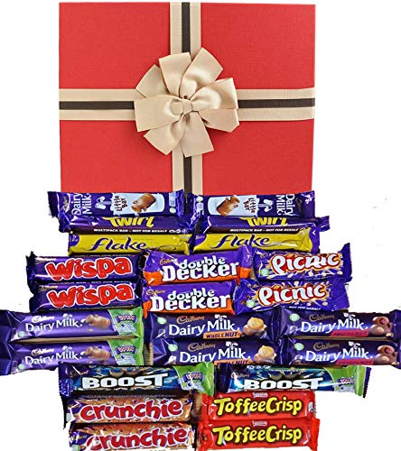 Ultimate Cadbury Schokolade Geschenkkorb Mega Cadbury Selection Box Süßigkeiten für alle Mega Cadbury Gift Set