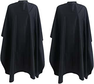 Andlane Hair Cutting Barber Salon Cape for Adults and Kids with Tie Closure - 2 Pack