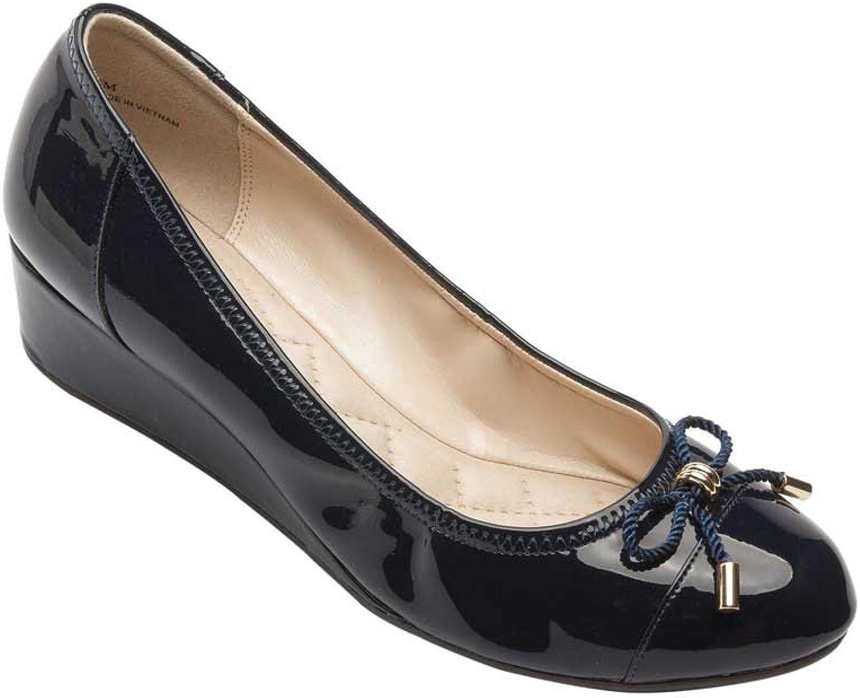 PIC PIC PIC  BETY Trishpumparna för kvinnor i Round Toe Wedge  modern