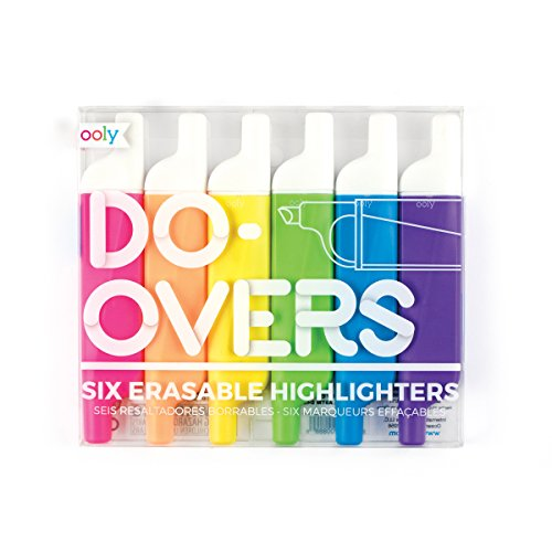 Ooly - Do-Overs Erasable Highlighters