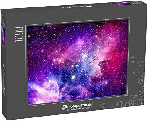 Puzzle 1000 Teile Berstende Galaxie - Elemente Dieses von der NASA eingerichteten Bildes - Klassische Puzzle, 1000 / 200 / 2000 Teile, edle Motiv-Schachtel, Fotopuzzle-Kollektion 'Weltall'