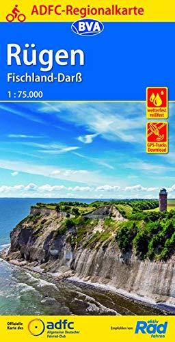 ADFC-Regionalkarte Rügen, Fischland-Darß mit Tagestouren-Vorschlägen, 1:75.000 (ADFC-Regionalkarte 1:75000)