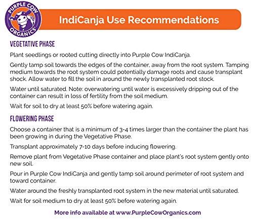 Purple Cow IndiCanja  Organic Living Soil